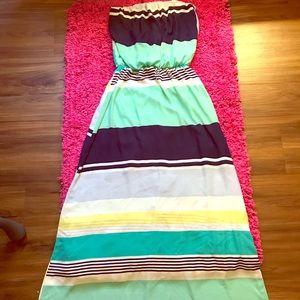Beautiful like new Tube maxi dress